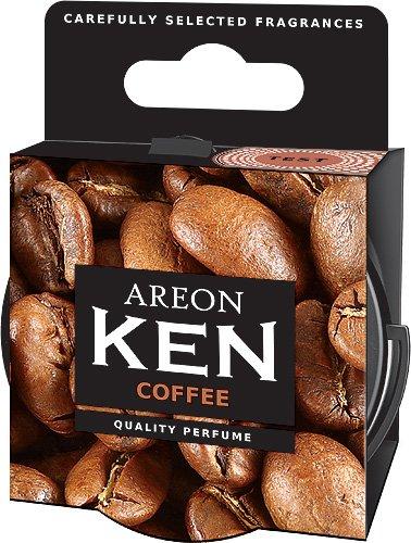 Preisvergleich Produktbild Original Areon KEN Auto Lufterfrischer Duftdose Duftbaum Lufterfrischer DECKEL FREIE AUSWAHL (Coffee)