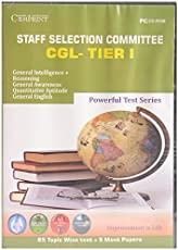 STAFF SELECTION COMMISSION CGL-TIER I CD- EDUCATIONAL TUTOR CD