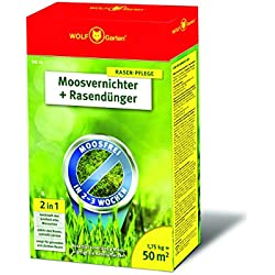 WOLF-Garten Moosvernichter und Rasendünger - SW 50 - 1,75 kg für 50 m² - 3841010
