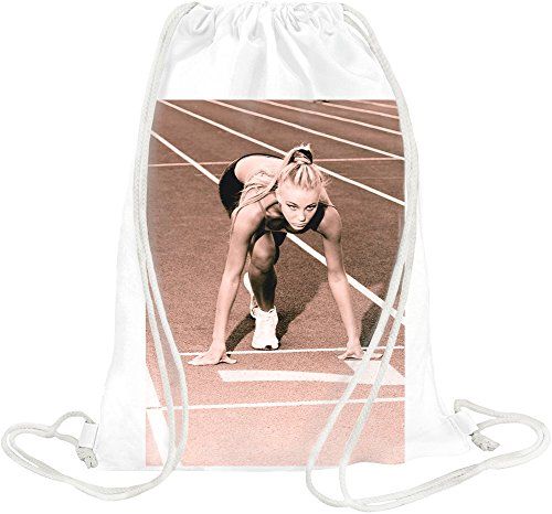 Sprint Woman Drawstring bag -