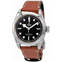 Tudor 79540-0003 - Reloj para hombre, esfera negra automática