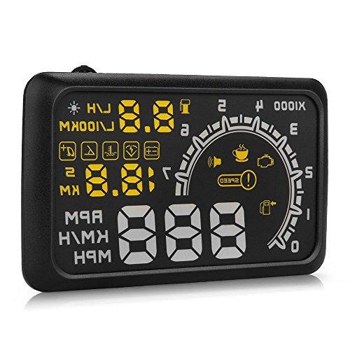 Takestop® Alarma LCD salpicadero Control VelocitÃ