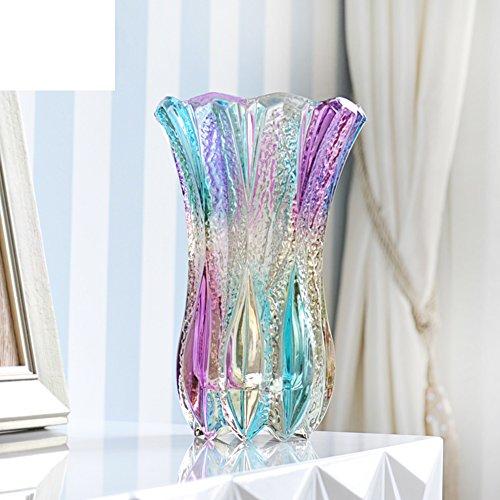 Fashion Glass Vase/home Decoration/living Room Flower Device Decoration-b