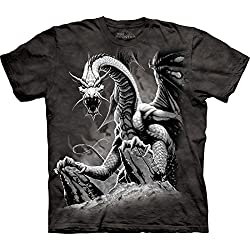 The Mountain Camesita Black Dragon Dragons Niño Unisexo L