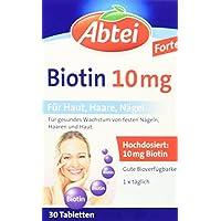 Preisvergleich für Abtei Biotin 10 mg, 30 Stück, 1-er Pack (1 x 22 g)