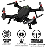 TIME4DEALS MJX B6 Bug 6 1600mkv Brushless motor FPV Racing Drone Quadcopter, Transmisión en tiempo real, 2,4 GHz 4 Chanel 6 Eje Gyro RC Quadcopter sin Cámara.