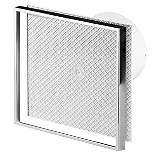 TILED FACE PLATE Extractor Fan / Ventilator WI100T 230V, 14W, 94 m3/h by Awenta