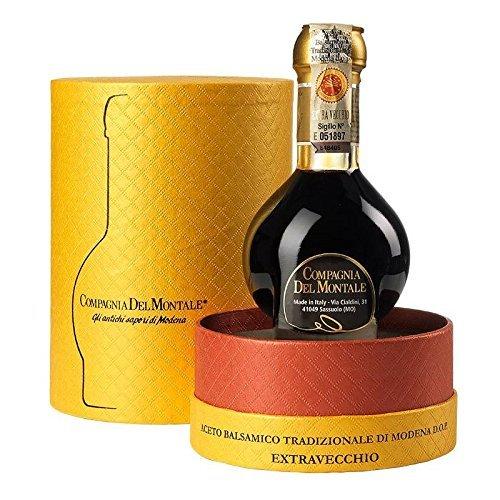 Preisgekrönter Aceto Balsamico Tradizionale di Modena D.O.P. EXTRA VECCHIO mind. 25 Jahre gereift in edler Box -