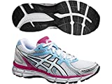 ASICS Gel-Oberon 9 Women's Running Shoes (T591N-0100) (White/Pearl White/Hot Pink) (UK 9.5 / EU 44 / US 11.5 / cm 28.0)