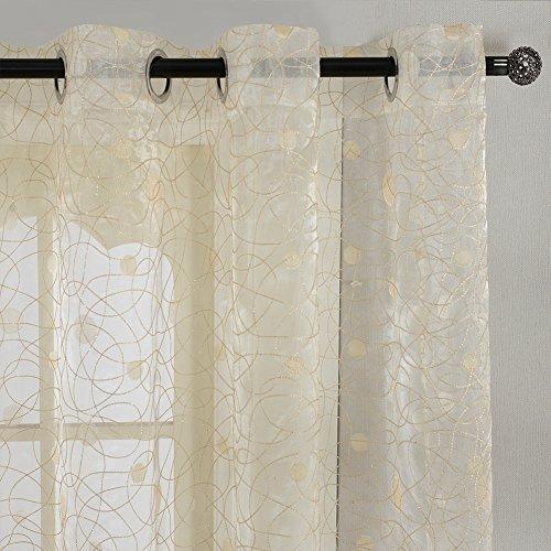 Sheer Kitchen Curtains Amazon Com: Sheer Curtains: Amazon.co.uk
