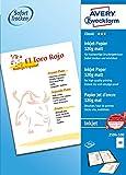 Avery Zweckform 2594-100 Classic Inkjet Papier (A3, einseitig beschichtet, matt, 120 g/m²) 100 Blatt