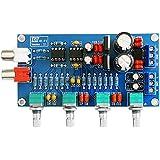 SODIAL(R) NE5532 OP-AMP HIFI Amplifier Volume Tone EQ Control Board DIY Kits