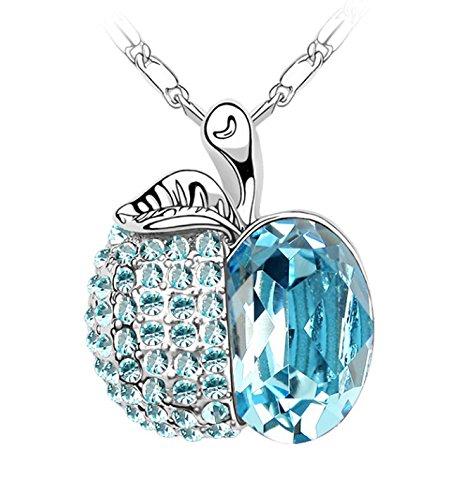 scorpius-gifts-gioiello-di-cristallo-strass-collana-mela-in-sacchetto-regalo-in-organza-gratis-luce-