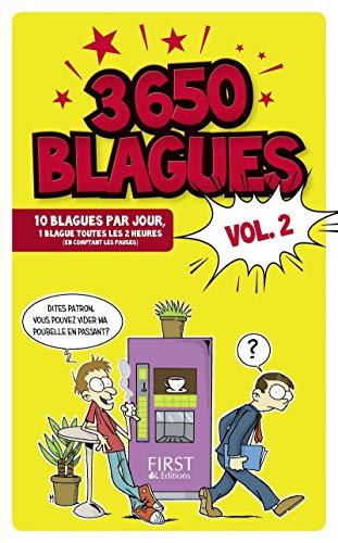 3650 blagues vol. 2 par COLLECTIF
