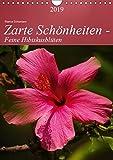 Zarte Schönheiten - Feine HibiskusblütenAT-Version (Wandkalender 2019 DIN A4 hoch): Zarte Hibiskusblüten in prachtvollen Formen und Farben (Planer, 14 Seiten ) (CALVENDO Natur)