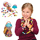 B. Toys 44149 - Pop Arty Kinderschmuck, 300 Teile (Farblich sortiert)