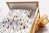 NEU! Kinderzimmer Babybett Bettwäsche Bettbezug und Kissenbezug Set 100 cm x 135 cm 100% Baumwolle Hergestellt in Europa (Pfeile)
