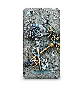Amez designer printed 3d premium high quality back case cover for Xiaomi Mi4i (Epic Keys)