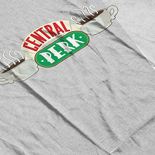 Friends Central Perk Logo Women's Vest Heather Grey