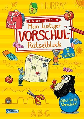 Mein lustiger Vorschul-Rätselblock: Rätsel für die Vorschule