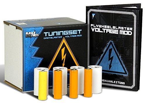 Nerf N-Strike Elite Hyperfire (Voltage Mod) (Nerf Vulcan Blaster)
