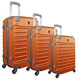Valise ZIFEL 7309C Orange 60 cm