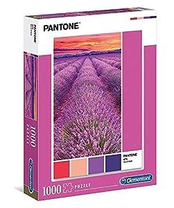Clementoni- Puzzle 1000 pzas Pantone Viola, Multicolor (39493)
