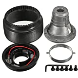 RISHIL WORLD Steel Ring Wheel Racing Hub Adapter N-7 Boss Kit for Nissan Skyline S13 S14 S15