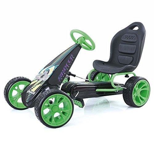 Hauck T90705 Sirocco, Go-Kart, green