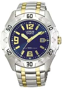 Lorus - RG821BX9 - Montre Homme - Quartz - Analogique - Bracelet Acier Inoxydable Argent