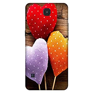 Bhishoom Printed Hard Back Case Cover for LG K3 - Premium Quality Ultra Slim & Tough Protective Mobile Phone Case & Cover