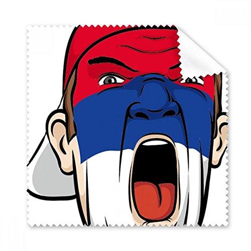 Niederlande National Flagge Gesicht Malen Make-up Maske Screaming Mütze Brille...