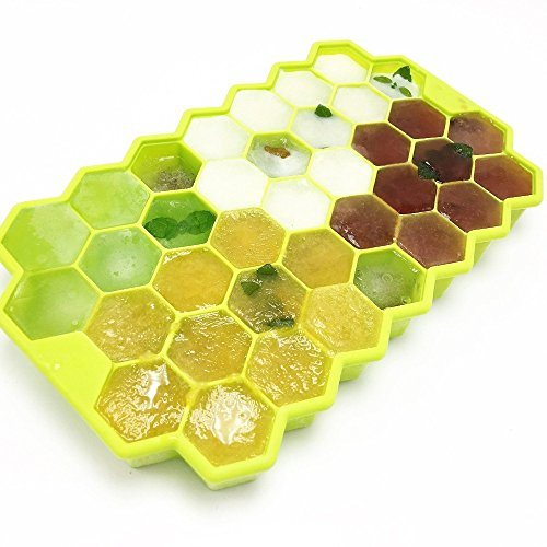 Home Cube Silicone Honeycomb Cake Chocolate Mold Ice Cream Tools Ice Cube...
