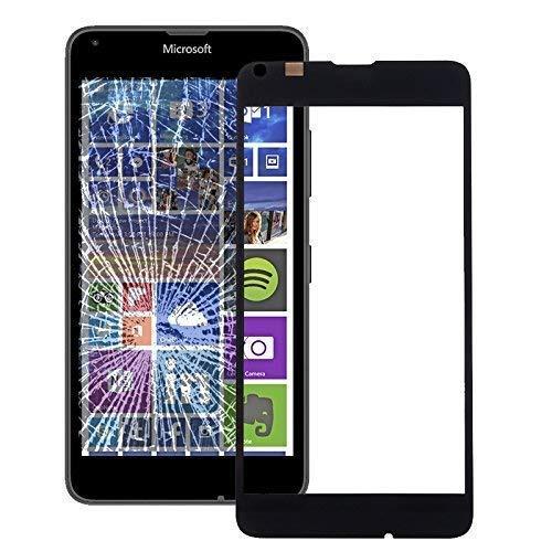 Display Front Glas für Nokia Lumia 640 Austausch Ersatz LCD Touch Screen Scheibe Schwarz (Glas Front Lumia Nokia)