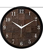 RAG28 11.75 Inches Designer Wall Clock for Home/Living Room
