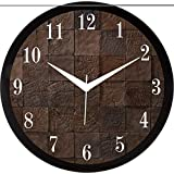 IT2M 11.75 Inches Designer Wall Clock For Home/Living Room/Bedroom / Kitchen (9234)