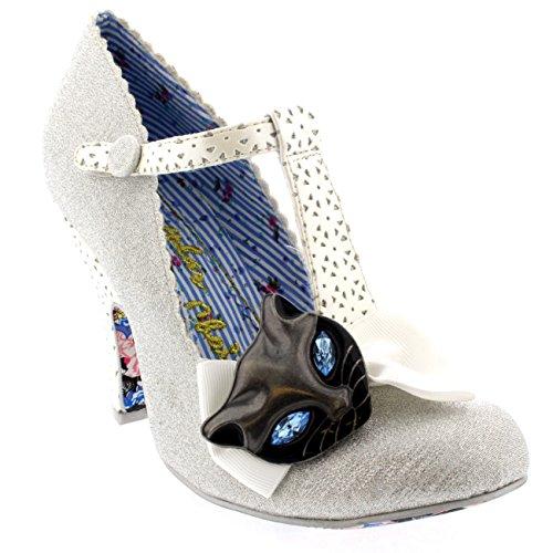 HKM tessuto scarpa–Metallic - argento