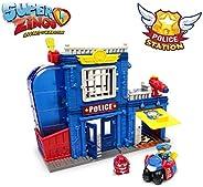 Superzings - Estación De Policía, con 2 exclusivas figuras SuperZings