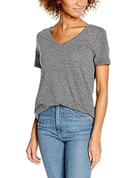 ICHI Damen T-Shirt Jasmin V Ss