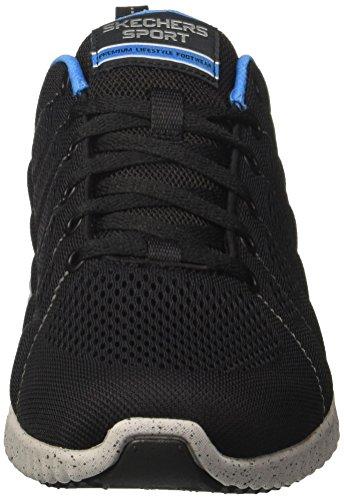 Cestini Skechers Blu Homme nero sherrod Salita Noir qw704
