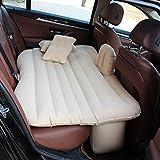 Car bed HUO Aufblasbares Matratzen-Bett Für Rücksitz des Autos, Air Chair Sofa Für Das Kampieren Im Freien Im Freien (Farbe : Beige, Größe : 2)