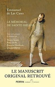 Mémorial de Sainte-Hélène. Le manuscrit retrouvé par Peter Hicks