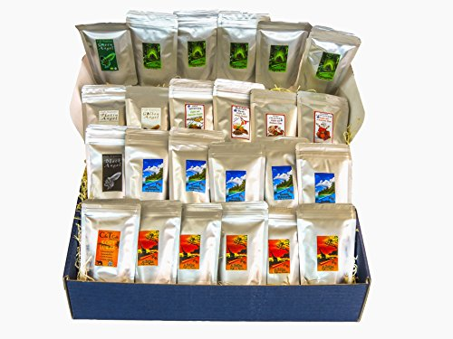 Countries from all over the world Colorful tasting package 24 delicious varieties of 40 g each with Kopi Luwak coffee 51Sz7u02 2B1L