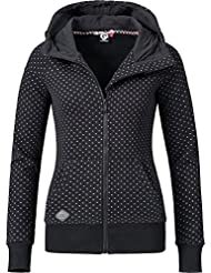 Ragwear Damen Jacke Sweatjacke Übergangsjacke Chelsea Zip (vegan hergestellt) 12 Farben XS-XL