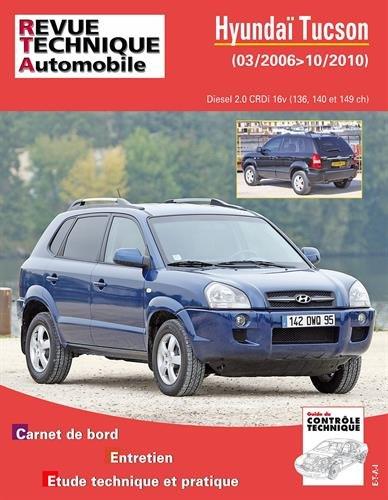 Hyundai Tucson 03/2006>10/2010 Diesel 2.0 CRDi par Revue technique automobile
