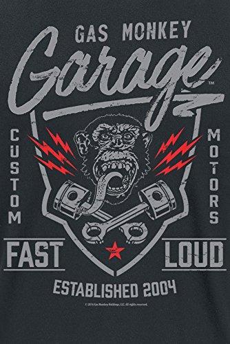 Gas Monkey Garage Fast'n Loud T-Shirt Schwarz Schwarz