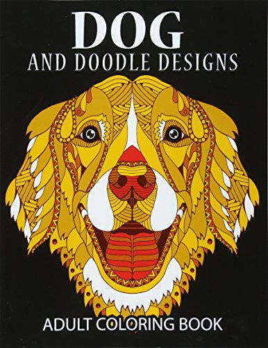 Doodle Dog Coloring Books For Adults Adult Book Best Gifts Mom