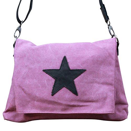My-Musthave, Borsa tote donna grigio grigio scuro Medio rosa