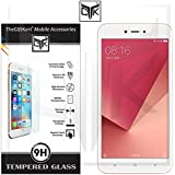 Redmi Y1 Lite Tempered Glass - TheGiftKart 9H Hardness HD Toughened Tempered Glass Screen Protector