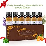 Vsadey Aromatherapy Essential Oils Set 6 x 10ml Blends Therapeutic Grade Oil 100%